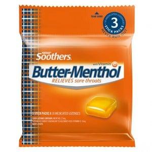 Allen's Butter-menthol Throat Lozenge