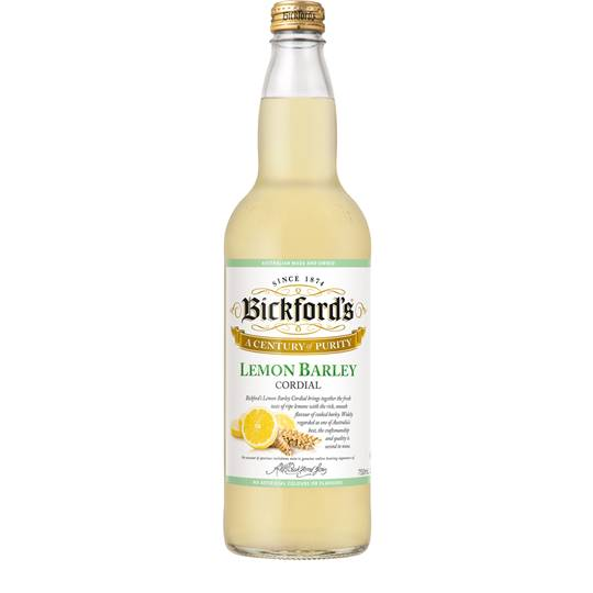 Bickfords Lemon Barley Cordial