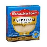 Maharajah's Choice Pappadums Plain