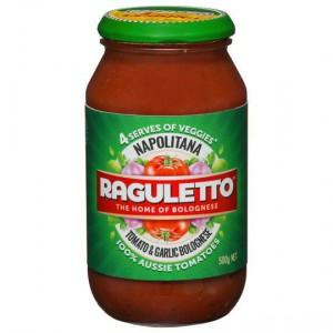 Raguletto Pasta Sauce Napolitana