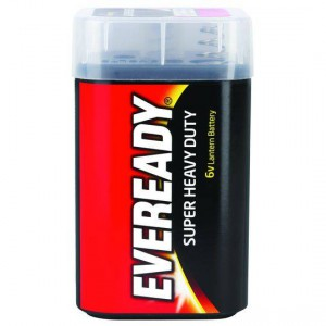 Eveready Super Heavy Duty 6v Lantern Batteries