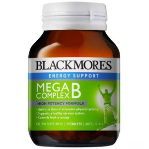 Blackmores Mega B Complex Tablets
