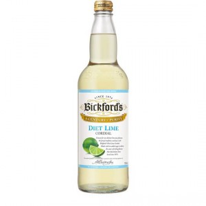 Bickfords Diet Lime Cordial