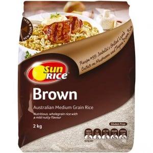 Sunrice Brown Rice Calrose Medium Grain