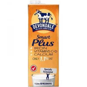 Devondale Smart Plus Long Life Milk