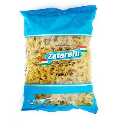 Zafarelli Fusilli Pasta No 17