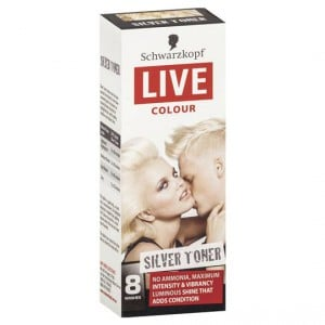 Schwarzkopf Live Colour Silver Tone