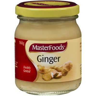 Masterfoods Ginger Chopped Fresh Jar