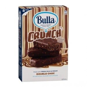 Bulla Crunch Ice Cream Double Choc