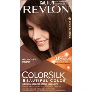 Revlon Colour Silk Hair Colour 47 Medium Rich Brown