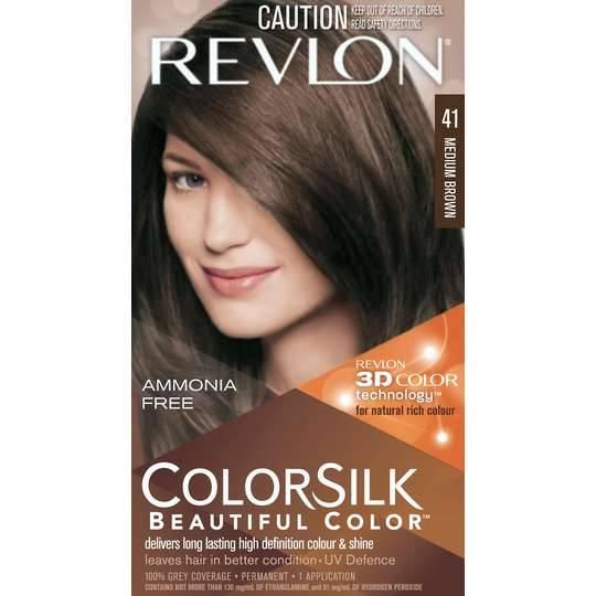 Revlon Colour Silk Hair Colour 41 Medium Brown