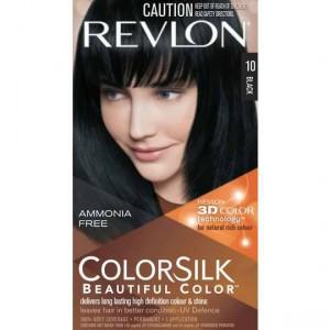 Revlon Colour Silk Hair Colour 10 Black