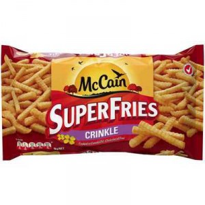 Mccain Crinkle Cut Superfries Canola