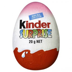 Kinder Surprise Chocolate Egg Pink