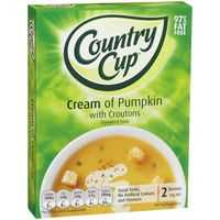 Country Cup Instant Soup Cream Of Pumpkin With Croutons