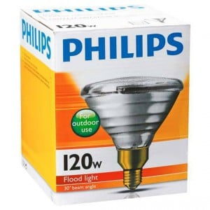 Philips Reflector Par38 Globe 120w Es Base