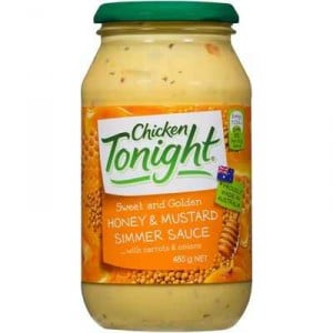 Chicken Tonight Simmer Sauce Honey & Mustard