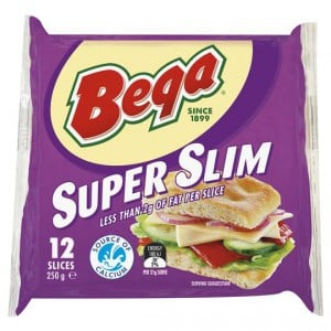 Bega Super Slim Cheese Slices