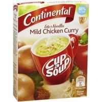 Continental Cup A Soup Noodles Instant Soup Mild Chicken Curry