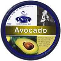 Chris' Dips Avocado