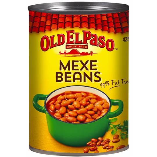 Old El Paso Mexe Beans