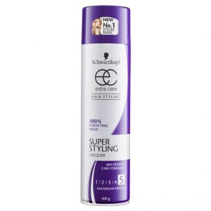 Schwarzkopf Extra Care Hair Spray Super Styling Lacquer