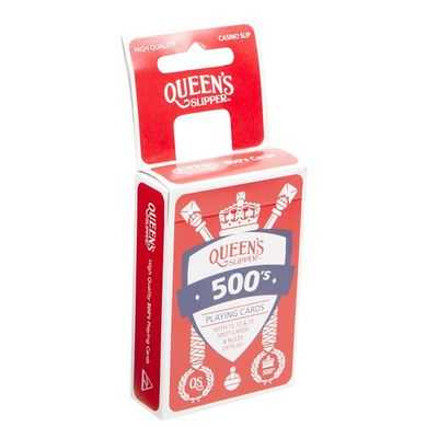 Queens Slipper Favour Playing Cards 500s