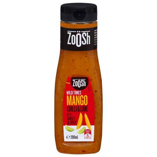 Zoosh Mango Chilli & Lime Dressing