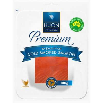 Huon Tasmanian Smoked Salmon Cold Smoked