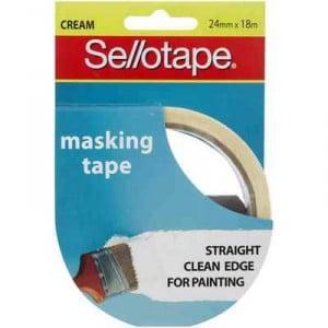 Sellotape Masking Tape 24mm X 18m