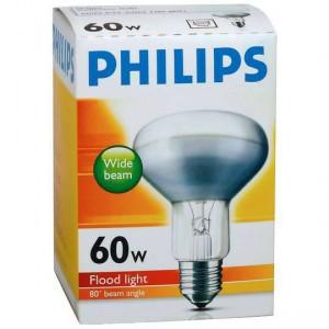 Philips Reflector R80 Globe 60w Es Base