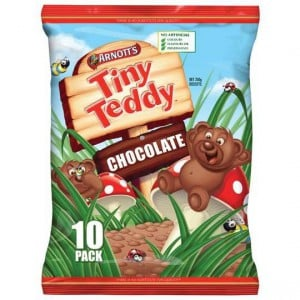 Arnott's Tiny Teddy Chocolate