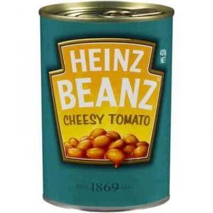 Heinz Baked Beans Cheesy Tomato