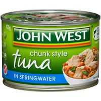 John West Tuna Light In Springwater