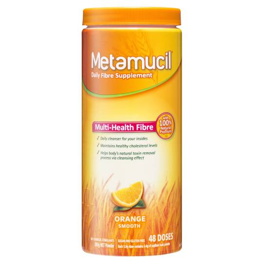 Metamucil Laxatives Smooth Orange