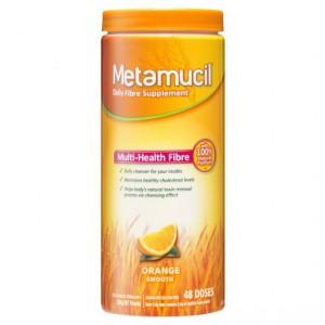Metamucil Daily Fibre Supplement Orange Smooth 48 Doses