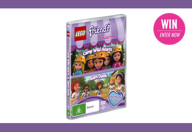 WIN 1 of 25 copies of Lego Friends: Camp Wild Hearts & Slam Dunk!