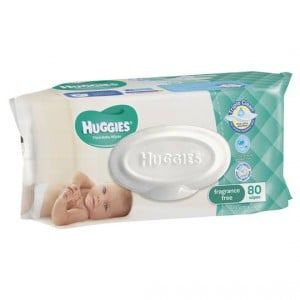 Huggies Baby Wipes Fragrance Free Refill