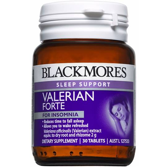 Blackmores Sleep Support Valerian Forte Tablets
