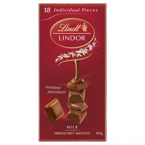 Lindt Lindor Chocolate Block Milk