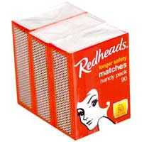 Redheads Matches Handy Pack