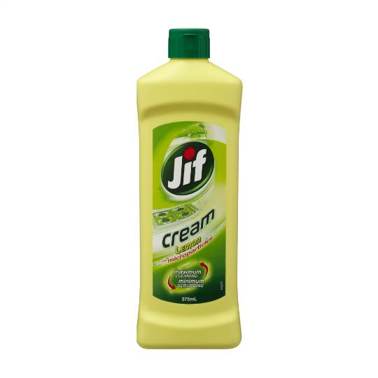 Jif Cream Cleaner Lemon