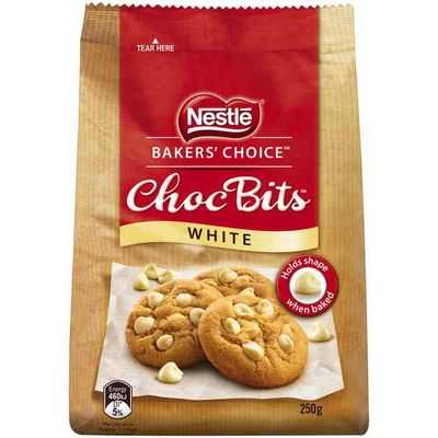 Nestle Baker's Choice Choc Bits White