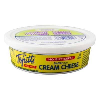 Tofutti Better Than Plain Cream Cheese