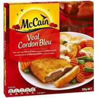 Mccain Dinner Veal Cordon Bleu