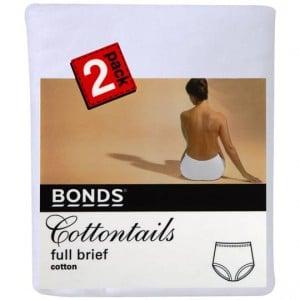 Bonds Women's Underwear Cottontails Size 12