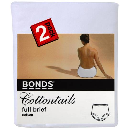 Bonds Women's Underwear Cottontails Size 12