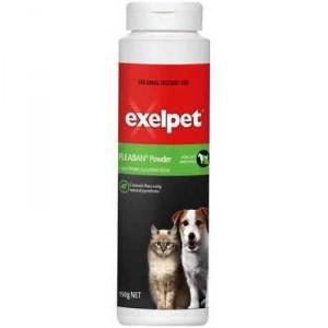 Exelpet Treatment Fleaban Powder Cat & Dog