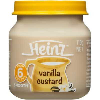 Heinz Smooth Food 6 Months Vanilla Custard