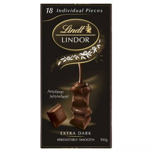 Lindt Lindor Chocolate Block 60% Dark